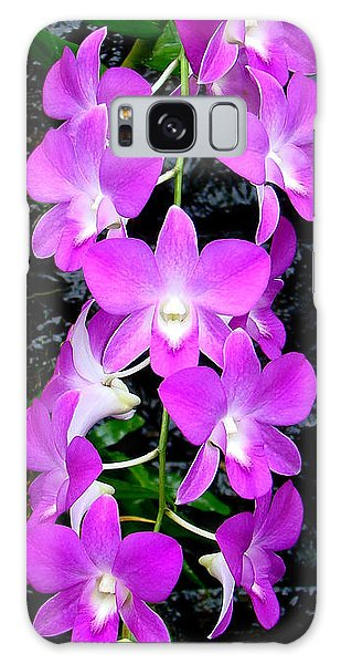 Cascading Orchids Galaxy Case