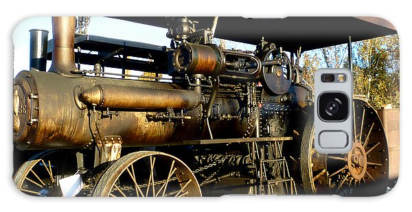 Case Steam Tractor Galaxy Case by Pete Trenholm