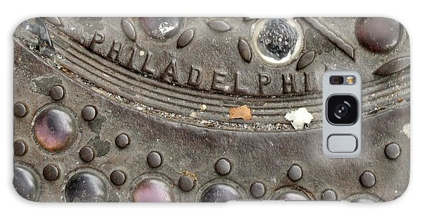 Cast Iron Philadelphia Galaxy Case by Christopher Woods