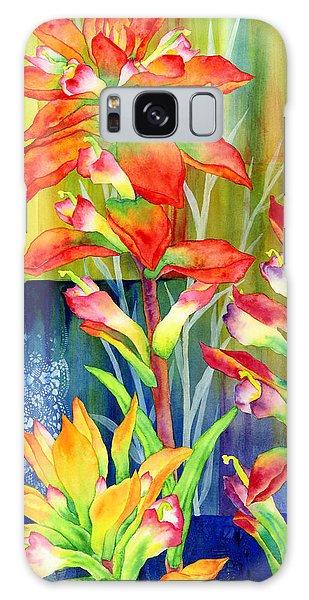 Bloom Galaxy Case - Castilleja Indivisa by Hailey E Herrera