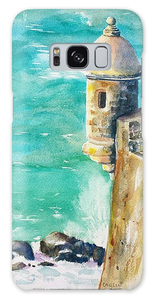 Castillo De San Cristobal Ocean Sentry  Galaxy Case