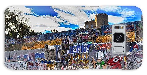 Austin Castle And Graffiti Hill Galaxy Case