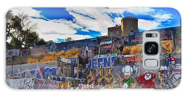 Castle Graffiti Art Galaxy Case