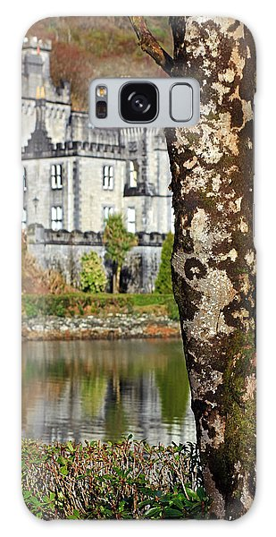 Castle Behind The Trees Galaxy Case