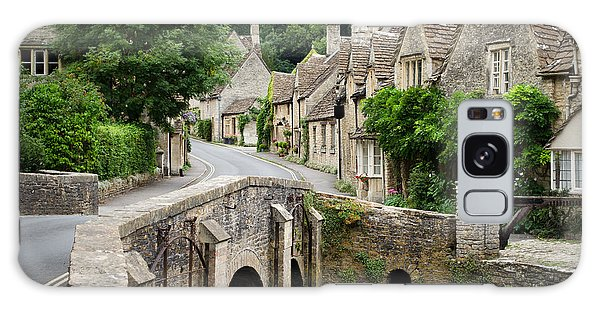 Castle Combe Cotswolds Village Galaxy Case by IPics Photography