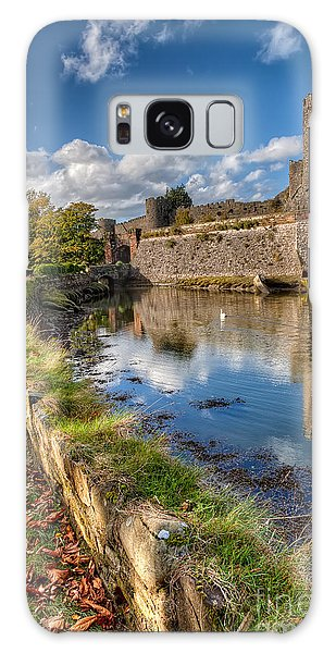 Swan Boats Galaxy Case - Castle Conwy by Adrian Evans