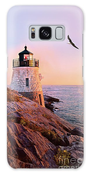 Castle Hill Lighthouse 2 Newport Galaxy Case