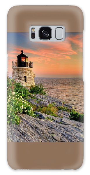 Castle Hill Lighthouse - Rhode Island Galaxy Case
