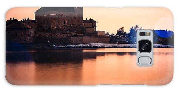 Castle In Artistic Infrared Image Galaxy Case by Teemu Tretjakov