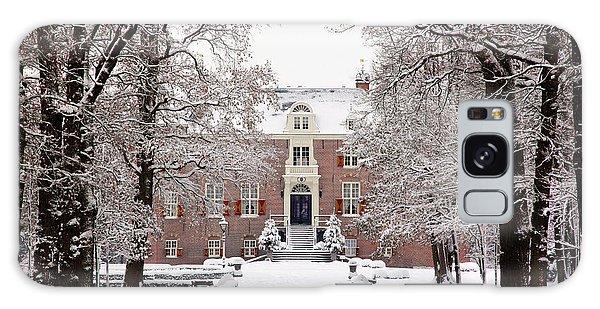Castle In Winter Dress  Galaxy Case