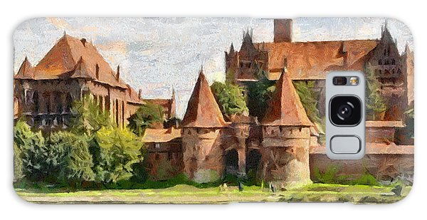 Castle Malbork Poland Galaxy Case