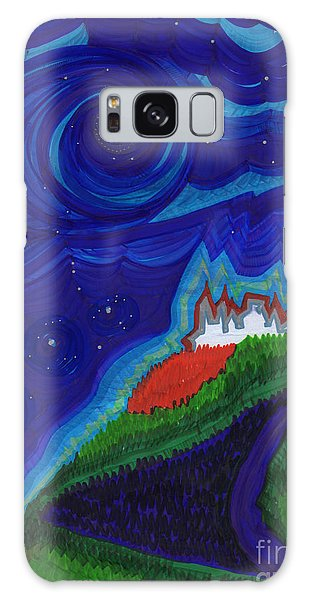 Castle On The Cliff By Jrr Galaxy Case by First Star Art