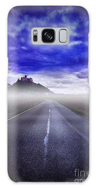 Castle On The Hill Galaxy Case