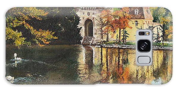 Castle On The Water Galaxy Case by Mary Ellen Anderson
