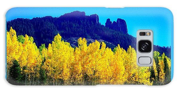 Autumn Castle Rock Aspens Galaxy Case