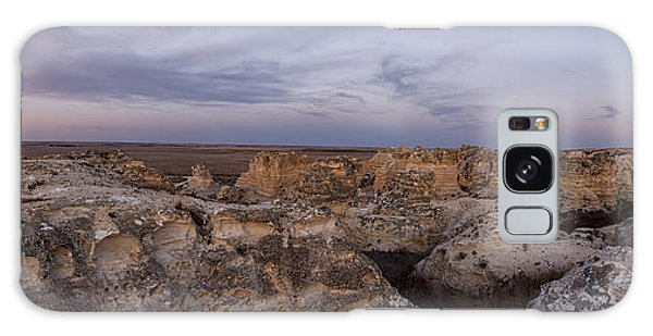 Castle Rock Badlands Pano Galaxy Case by Scott Bean