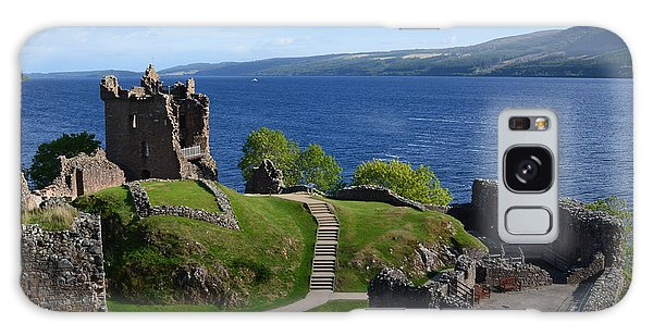 Castle Ruins On Loch Ness Galaxy Case