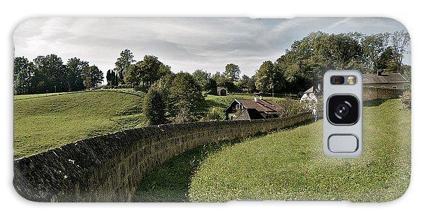 Castle Wall In Tittmoning Germany Galaxy Case