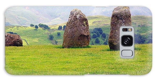 Castlerigg Keswick England Galaxy Case by Graham Hawcroft pixsellpix