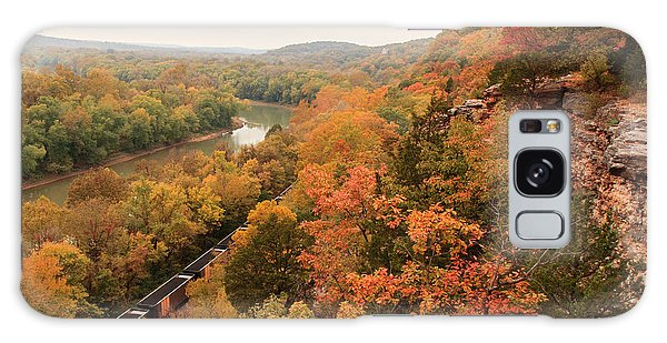 Castlewood State Park Galaxy Case by Scott Rackers