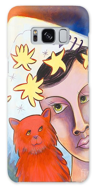 Cat Amore' Galaxy Case