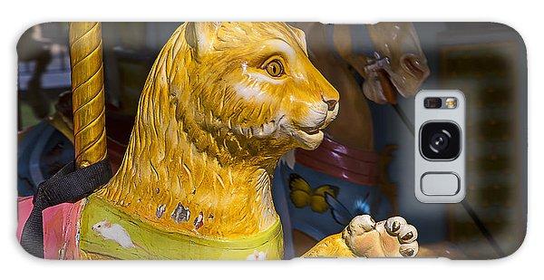 County Fair Galaxy Case - Cat Carrousel Ride by Garry Gay