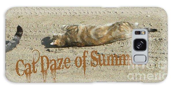 Cat Daze Of Summer Galaxy Case
