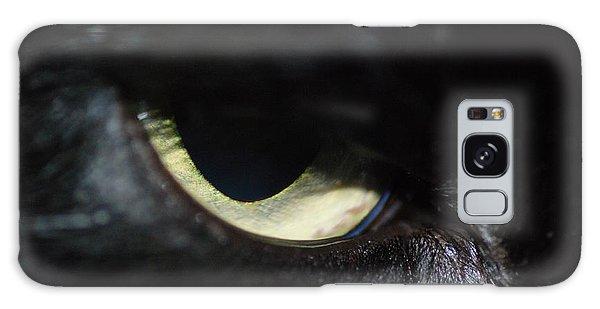 Cat Eye Galaxy Case