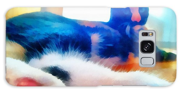 Cat Feet Galaxy Case