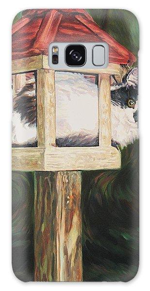 Cat House Galaxy Case