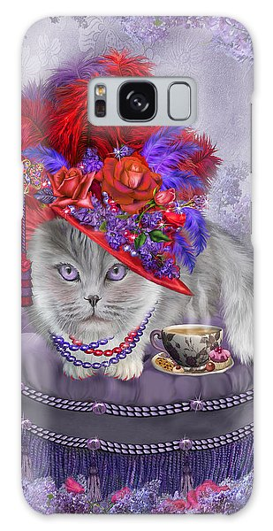 Cat In The Red Hat Galaxy Case by Carol Cavalaris