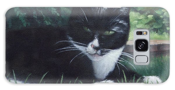 cat Galaxy Case by Martin Davey