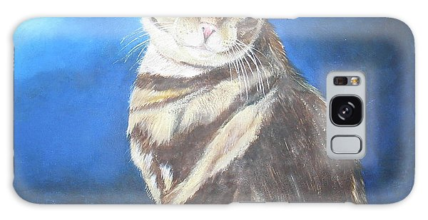 Cat Profile Galaxy Case by Thomas J Herring