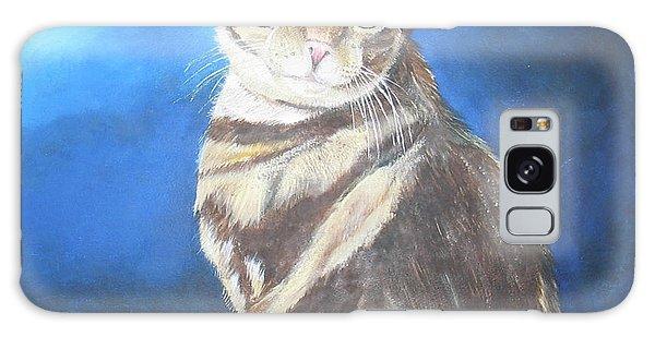 Cat Profile Galaxy Case