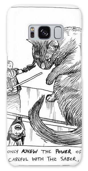 Cat Wars Galaxy Case by Steve Hunter