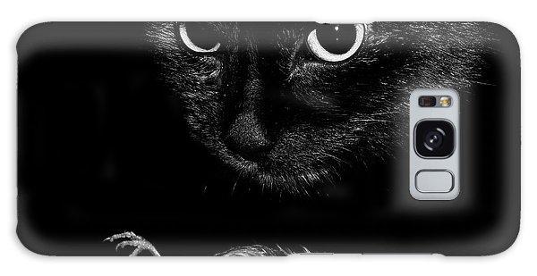 Wren Galaxy S8 Case - Cat With A Dead Bird by Cordelia Molloy