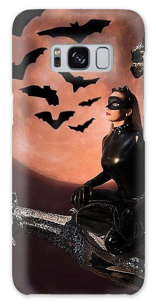 Cat Vs Bat Galaxy Case