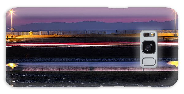 Catalina Bolsa Chica Pch Light Trails And The Wetlands By Denise Dube Galaxy Case