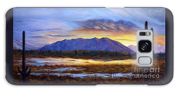 Catalina Sunrise Galaxy Case by Judy Filarecki