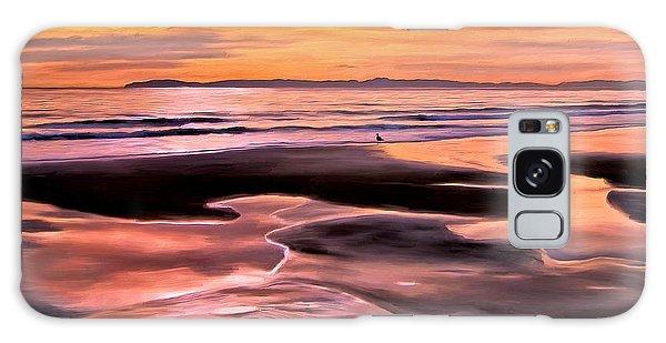 Catalina Sunset Galaxy Case by Michael Pickett