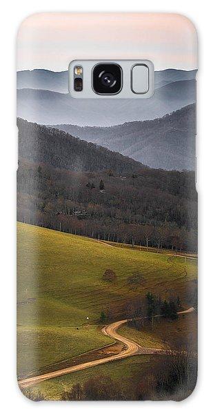 Cataloochee Valley Sunrise Galaxy Case by Serge Skiba