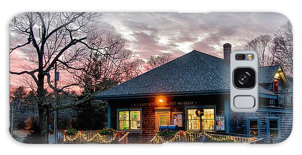 Cataumet Post Office Dressed For The Holidays Galaxy Case