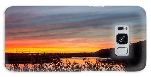 Cataumet Sunset Galaxy Case