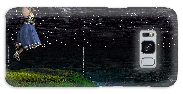 Catch A Falling Star Galaxy Case