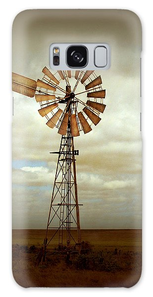 Rural Scenes Galaxy S8 Case - Catch The Wind by Holly Kempe