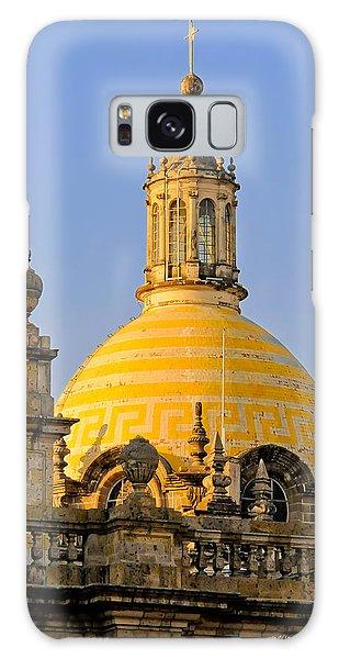 Catedral De Guadalajara Galaxy Case by David Perry Lawrence