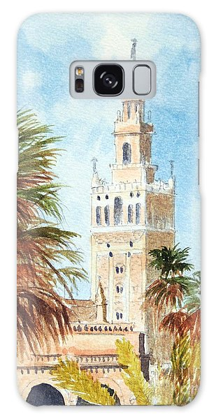 Catedral De Sevilla Galaxy Case by Bill Holkham