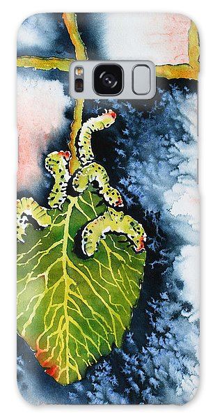 Galaxy Case - Caterpillars by Zuzana Vass