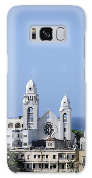Cathedral De San Juan Galaxy Case