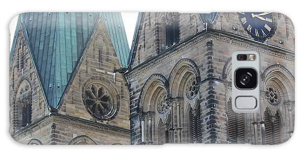 Cathedral In Bremen Galaxy Case